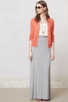 Pinpoint Maxi Skirt - anthropologie.com