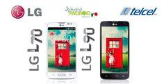 Los LG L70 y LG L90 llegan a México con Telcel.