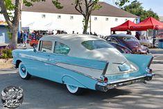 This amazing beauty is John Poole's 1957 Chevy Fleetline. The ...