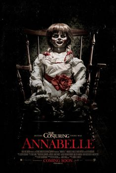 Annabelle: Extra Large Movie Poster Image - Internet Movie Poster Awards Gallery