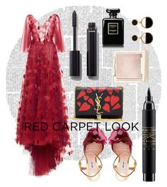 """""""Submittier"""" by jarawi on Polyvore featuring Mode, LUISA BECCARIA, Miu Miu, Yves Saint Laurent, MAC Cosmetics, Chanel, Jouer und Warehouse"""