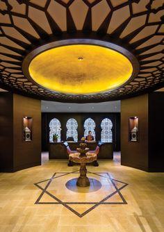 Miraj Hammam Spa at Shangri-La Toronto Toronto Hotels, Visit Toronto, Spa Reception, Shangri La Hotel, Honeymoon Suite, Lobby Lounge, Hotel Guest, Beautiful Space, Hotels And Resorts