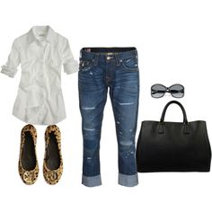 casual, when in doubt, you can't go wrong with jeans and a white button up with flats/or boots
