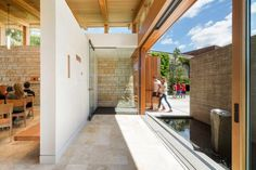 Seattle chapel by Hennebery Eddy has stone and concrete walls