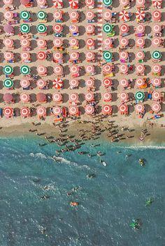 Aerial Views Adria, photographies aériennes du photographe allemand Bernhard Lang.