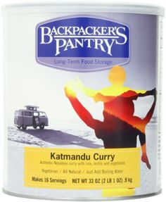 Backpacker's Pantry Jamaican Jerk Rice with Chicken, # 10 Can - Ounces Servings), Emergency Food, Freeze Dried Meal Hiking Food, Camping And Hiking, Camping Gear, Backpacking Meals, Camping Essentials, Camping Equipment, Hiking Packs, Hiking Gear, Tent Camping
