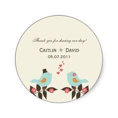 Wedding Favor Labels Custom Wedding Favor Stickers Rustic Wedding Stickers  Sweet