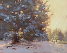 From the Easel of Barbara Jaenicke: When The Sky Isn't Blue Winter Landscape, Landscape Art, Landscape Paintings, Landscapes, Oil Painting Trees, Painting Tips, Sky Day, Art Society, Oil Painters