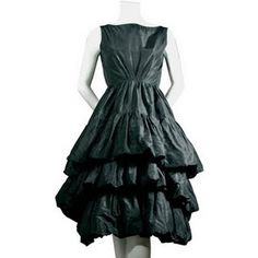 YSL for Christian Dior - vintage 50's silk taffeta