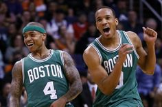 The Celtics, and new addition Isaiah Thomas, are fighting for a spot in the playoffs and the Knicks are...still around. #NBA
