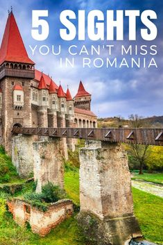 Romania Travel Blog: #Romania is full of #beauty and unique #attractions, so where to start? We're sharing the 5 top sights you have to see when traveling through this Eastern #European country. #EasternEurope