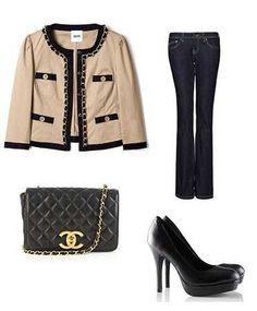 descuento en venta descuento más bajo zapatillas de skate Las 17 mejores imágenes de chaqueta Chanel outfits | Chanel ...