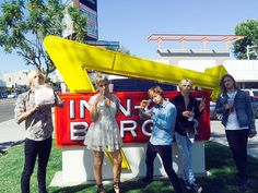 "Behind the Scenes at Kids' Choice with Pop Rock Group R5! | QUICK BITE | But first a stop at In-N-Out. ""Had to,"" the group says. (And we don't blame them.)"