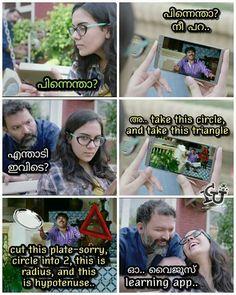 നങങൾകകമക learning app !!  #icuchalu #plainjoke   Credits: Ananth Mohan ICU Troll Meme, Funny Troll, Funny Qoutes, Funny Memes, Jokes, Citric Acid Cycle, School Life Quotes, Malayalam Quotes, Funny Facts