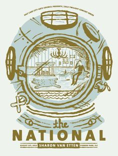 The National in Screenprints