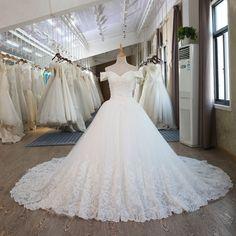 Elegant Vintage Lace Princess Wedding Dress With Sleeve - My Wedding Ideas