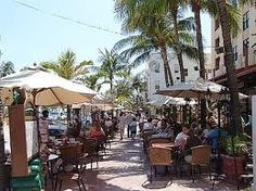 Lincoln Road in Miami Beach the place to walk, boutiques, eat amazing food and see people....