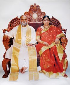Sri AmmaBhagavan ... founders of the Oneness University Chennai