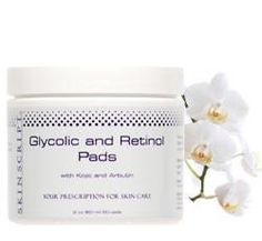Glycolic and Retinol Pads For all skin types to lift irregular pigmentation. Glycolic/Retinol Pads are designed to gently and progressively renew the skin to p