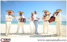 Mariachis add a unique musical touch blending Mexican culture into your #CancunProposal - Inquire about our packages today . . #Cancunphotographer #Cancunphotography #CancunMariachi #Cancun #DestinationWedding #CancunWedding #BeachWedding Followus: @cancunstudios Cancun Wedding, Destination Wedding, Panama Hat, Musicals, This Is Us, Mexico, Wedding Photography, Culture, Touch