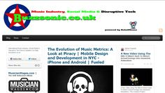 Buzzsonic.co.uk Music Industry, Social Media and Disruptive tech news feed. Powered by RebelMouse