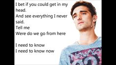 Read My Mind - The Wanted (Lyrics)