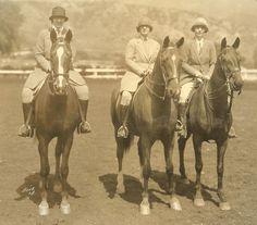 lady equestrians, 1928