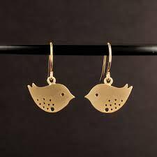 etsy bird earrings - Google Search