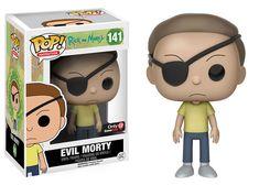 POP! Vinyl Rick & Morty- Evil Morty #141. Bought at ThinkGeek 12/16/16.