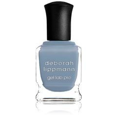 Deborah Lippmann Women's Sea Of Love Nail Polish ($20) ❤ liked on Polyvore featuring beauty products, nail care, nail polish, nails, beauty, makeup, blue, gel nail polish, deborah lippmann nail lacquer and contour brush