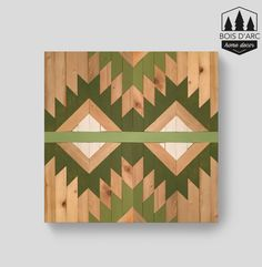 The Prickly Pear - Home Decor - Wood Wall Art - Wooden Decor - Wooden Wall Home Decor - Modern Wood Art - Geometric Wood Art