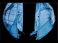 'The Mutual Wave Machine - interactive neurofeedback installation that embodies the elusive notion of 'being on the same wavelength' with another person through brainwave synchronization. Enclosed by an intimate capsule& immersed in an audiovisual environment that responds& reflects their shared brain activity, 2 visitors can directly experience& manipulate their internal efforts to approach each other, or distance themselves http://www.immaterial.org/content/mutual-wave-machine
