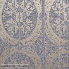 1000 images about papel pintado smart on pinterest for Papel pintado imitacion azulejo