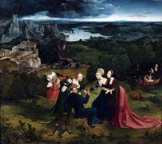 Joachim Patinir Temptation of St Anthony 1515