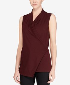 Lauren Ralph Lauren Slim-Fit Ponté-Knit Top