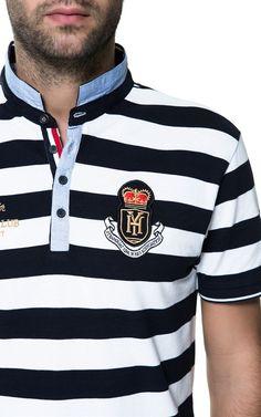 11 Polo Rugby Shirt, Mens Polo T Shirts, Polo Tees, One Direction Shirts, Matching Couple Shirts, Team Wear, T Shirt Diy, Vogue, Fashion Pants