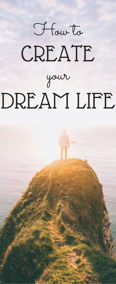 Ready to live the life of your dreams? Learn how to in this post. When we were children we pictured our dream life in our heads. But, as we got older we started to realize that our expectations didn't match our realities. If you aren't living your dream life, don't worry. You still CAN start to live your dream life now! With a little hard work your dreams will start becoming a reality. It's never too late to live a life of your dreams. Don't give up!