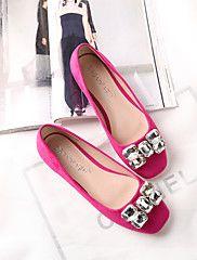 Women's Shoes Flat Heel Square Toe Flats Dress/... – USD $ 27.99