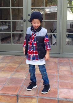 The Details Flannel II - A must have for winter!! Boys Fashion, Kids Fashion