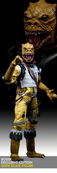 Bossk Sixth Scale Figure - Sideshow Exclusive Edition