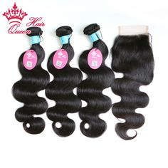 <b>DHL Free Shipping</b> Queen Hair Products 4 pcs Lot Loose Wave ...