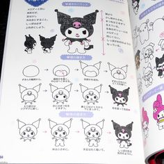 How to Draw Hello Kitty and Friends Ballpoint Pen Illustrations | Otaku.co.uk