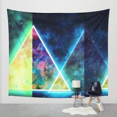 Galaxy III Wall Tapestry by Mr And Mrs Quirynen | Society6
