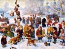 This year Maslenitsa festivities will be held at three large open-air festivals: the beach of Peter and Paul fortress, 300 years St Petersburg's anniversary park, and Kirov Central park on Elagin Island.