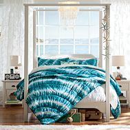 Bedding I like this bedding because its fun and uses a tye dye pattern, I like this bedding best in pink