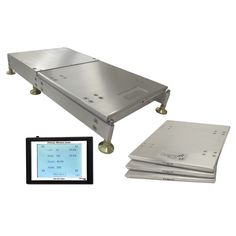 "NEW 1"" Tall Wireless Scales With Roll Back Trays, By Tanner Racing Products By MB"