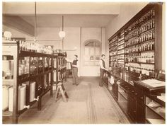 Royal Prince Alfred Hospital Dispensary in c1882.A♥W