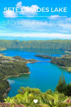 One of the most beautiful places I have ever visited and I didn't have to go far. Discover the Seven Cities Lake, in Azores. #clickthepic
