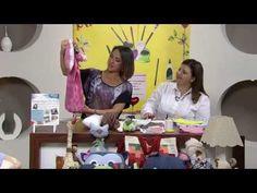Anjinho Porta Fralda 1/2 VIVI PRADO - Programa Mulher.com (16/05/2013) - YouTube