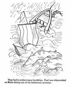 Pauls shipwreck